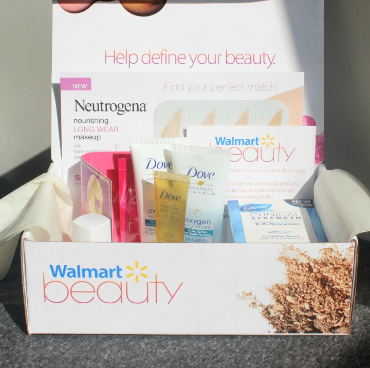 Walmart Beauty Box Fall 2014 - Review & Unboxing
