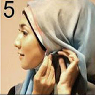 Cara Memakai Jilbab Paris Moderen Terbaru