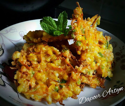 Resep bakwan jagung krenyes enak dan lezat ala dapoer artyn