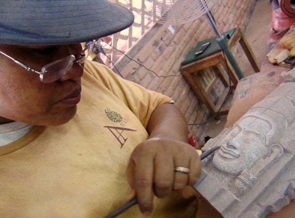 Cambodian artisan