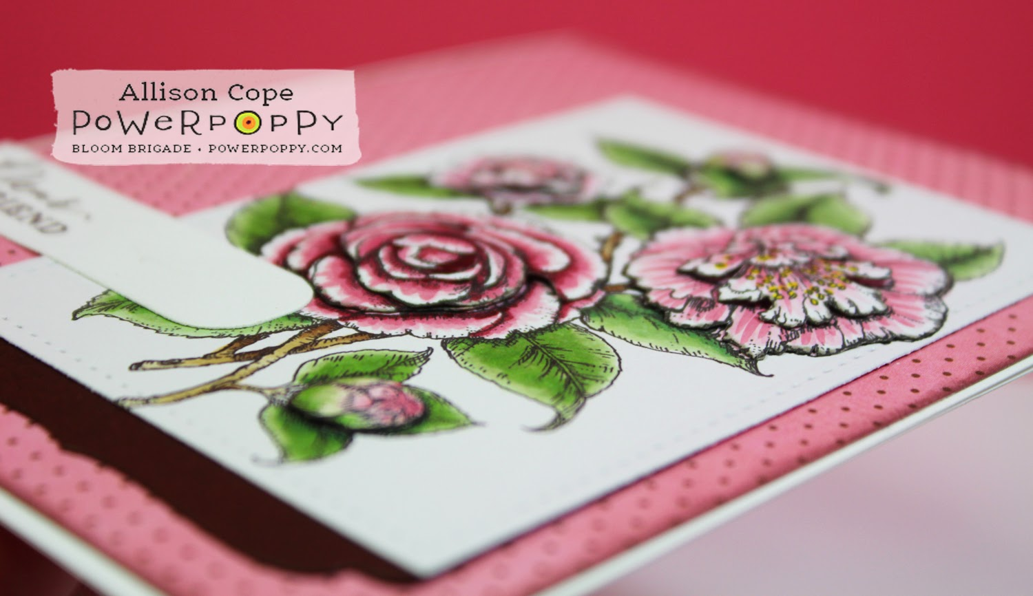 Power Poppy: Paper Tole Tutorial by Allison Cope