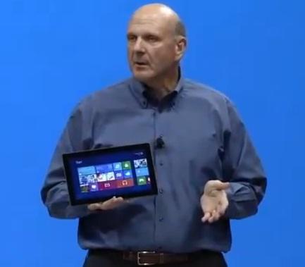 Completa presentación del Microsoft Surface en video