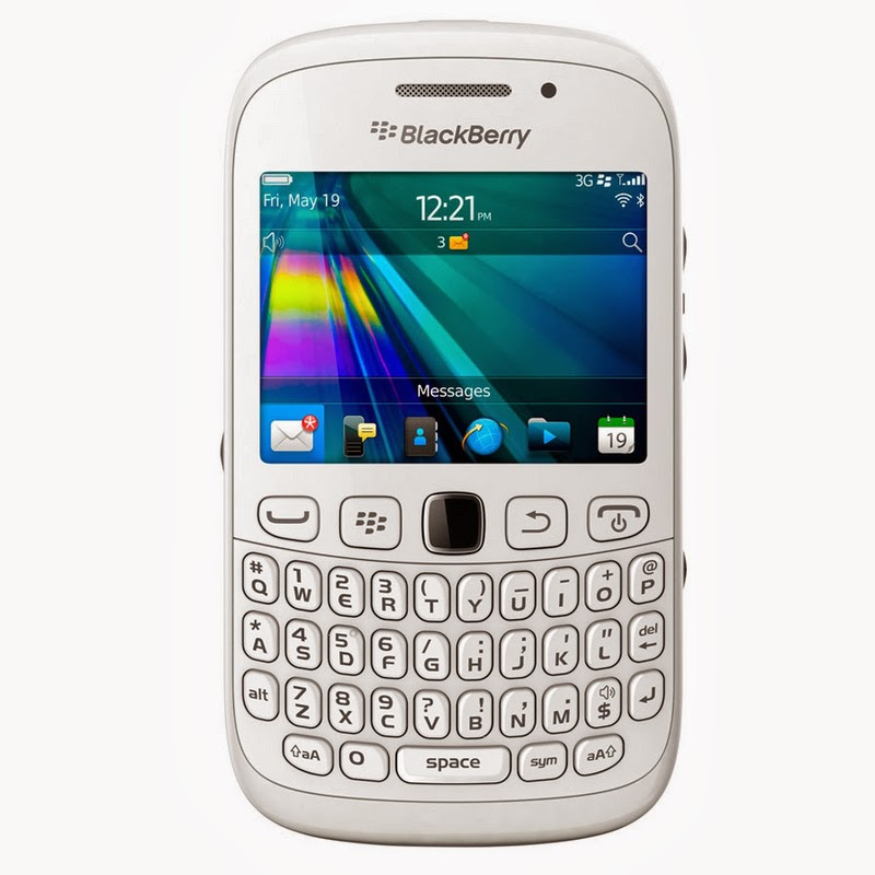 Spesifikasi Dan Harga BlackBerry Curve 9220 Davis White Terbaru