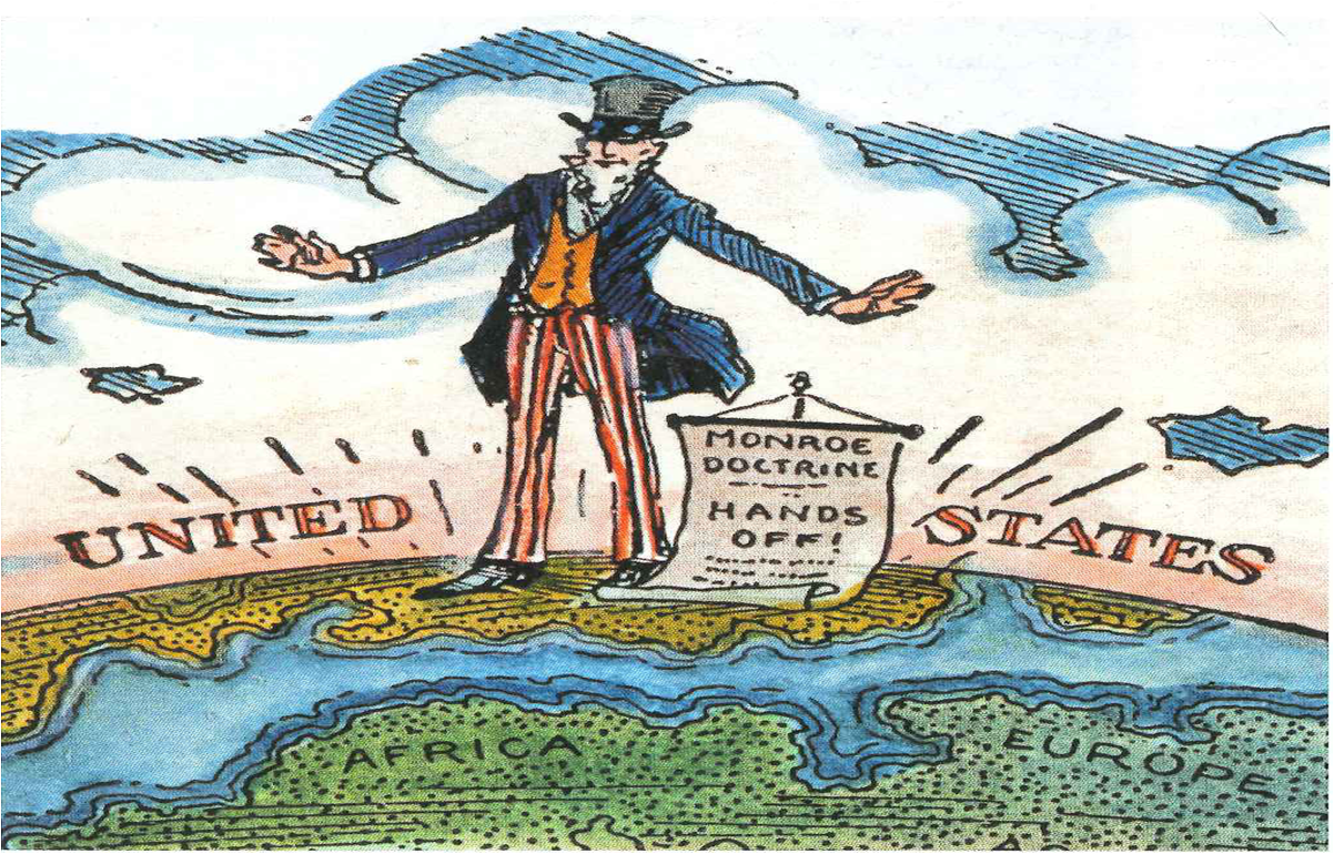 History with Rivera: 12.11.12 The Monroe Doctrine