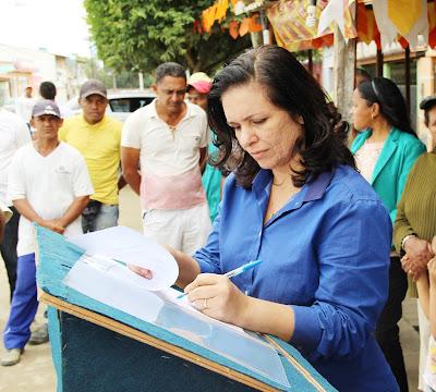 Amargosa: Calçadão beneficiará a entrada da cidade no bairro da Catiara