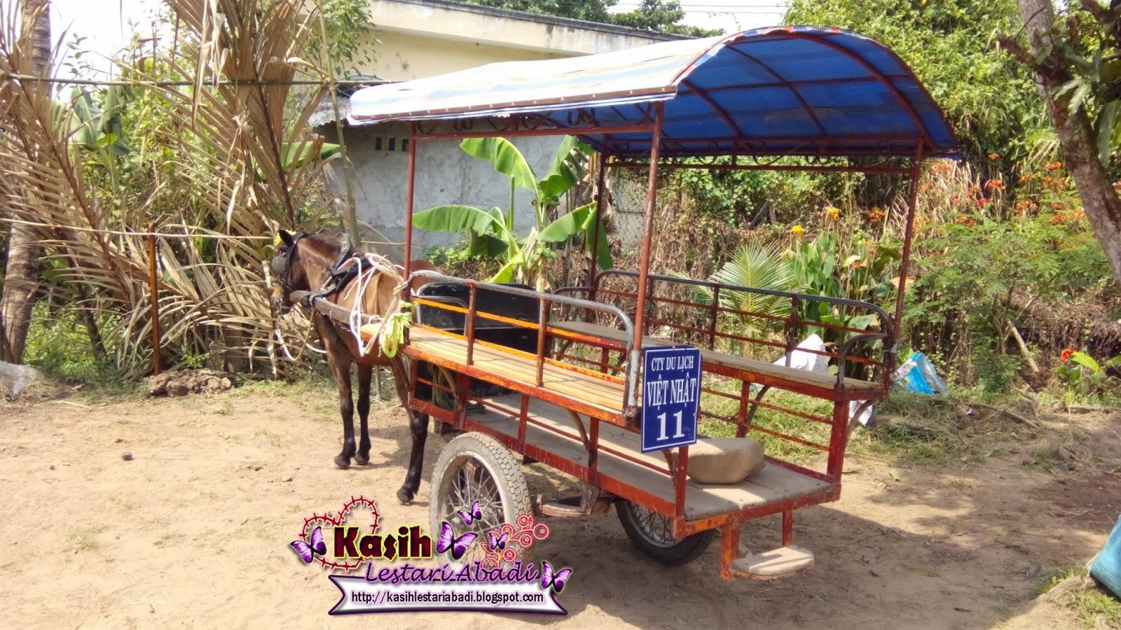 Ho Chi Ming,Sungai Mekong,Kereta Kuda