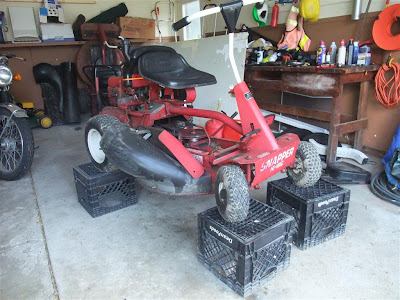 snapper riding mower, repair, broken belt, belt drive