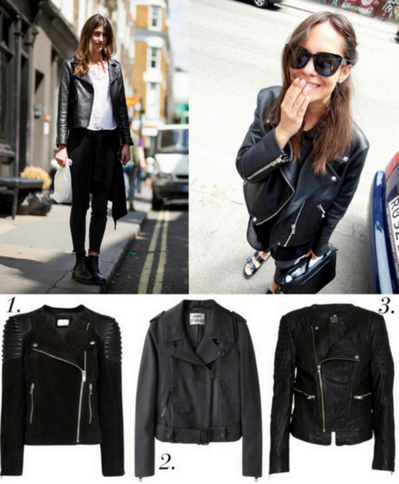 GARDEROBESKAB: THE PERFECT LEATHER JACKET.