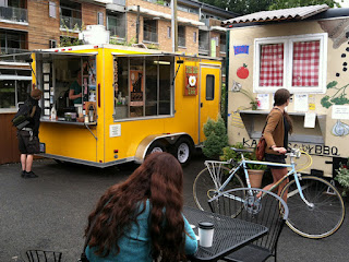 The Big Egg food truck in Portland, OR