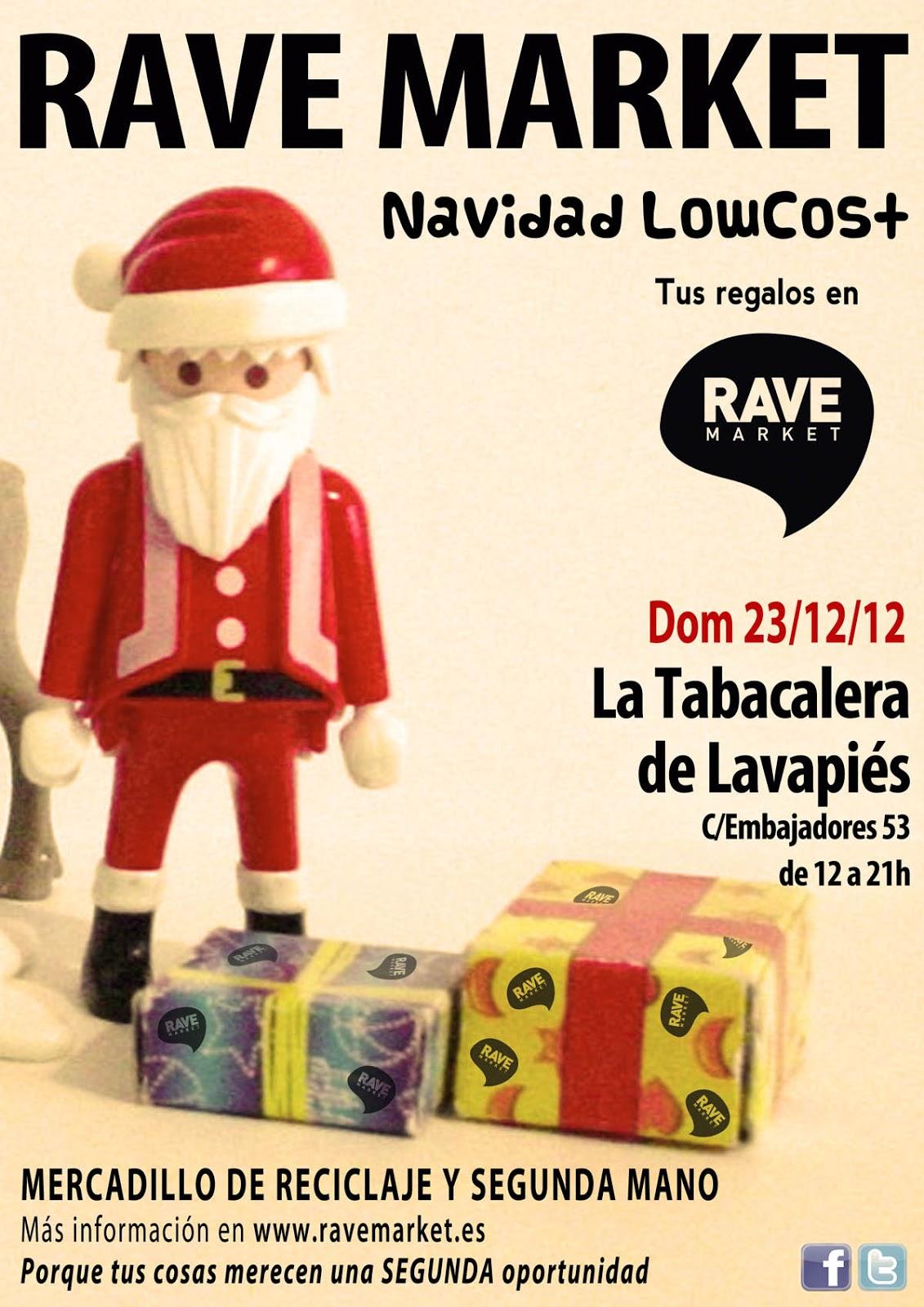 En Madrid Nadie Se Aburre El Mercadillo Rave Market Con Toque  ~ Mercadillo De Segunda Mano Madrid