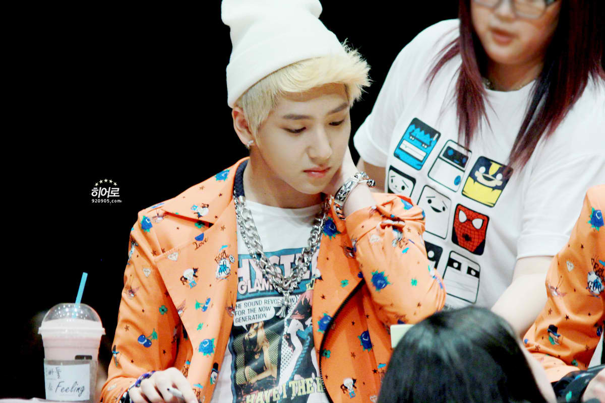 ★The B1A4 Stars★: BARO | 120610 | Incheon Fansign B1a4 Sandeul And Baro