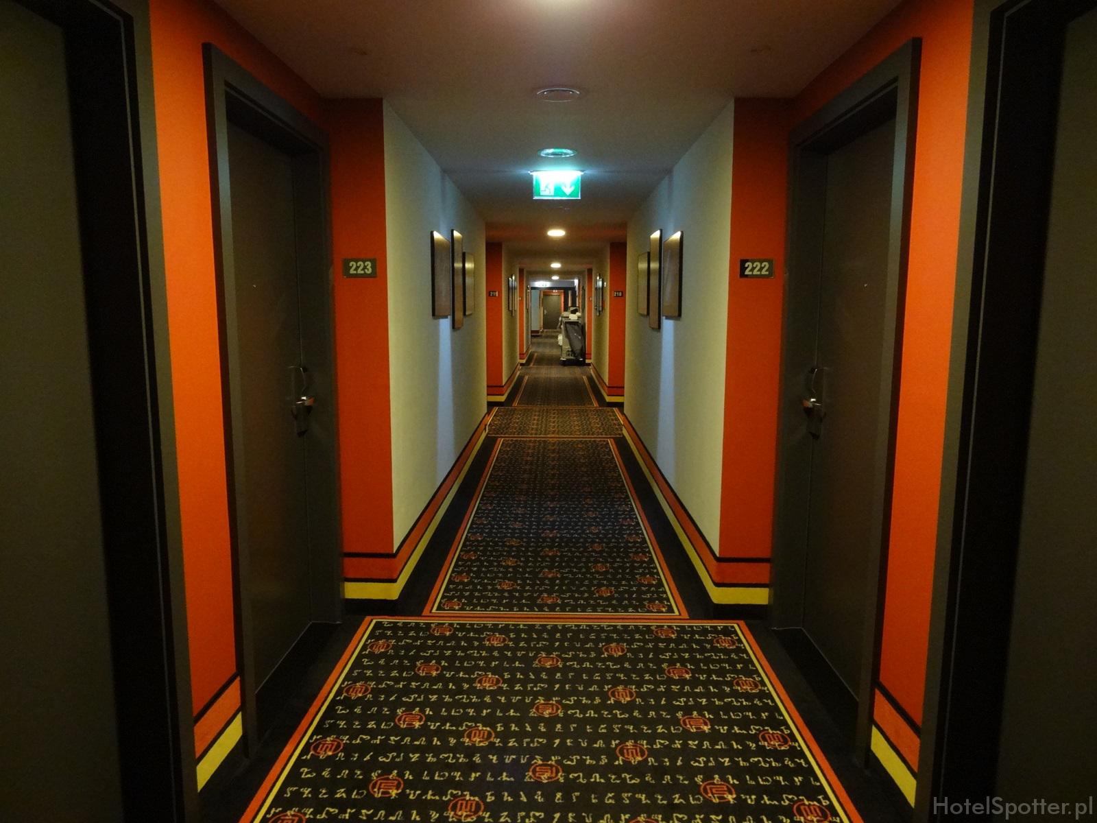 angelo Hotel Katowice - korytarz
