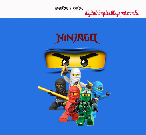 Ninjago Party: Free Printable Kit. - Oh My Fiesta! for Geeks