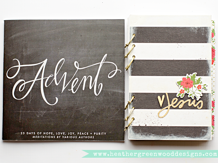 preparations for art worship through Advent, with Illustrated Faith and Naptime Diaries | mixed media | art journal