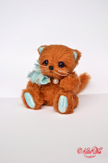 Handgemachte Teddy Katze von NatalKa Creations