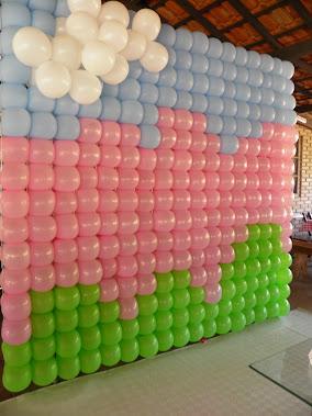 Painel PDS de Balões