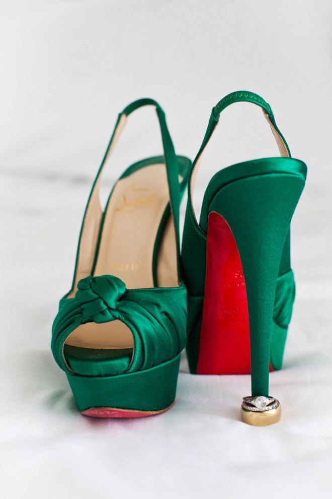 Emerald Green Wedding Shoes Images