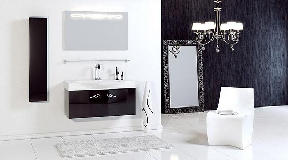 Сантехника на фото: мебель Aqwella Roma для ванной комнаты