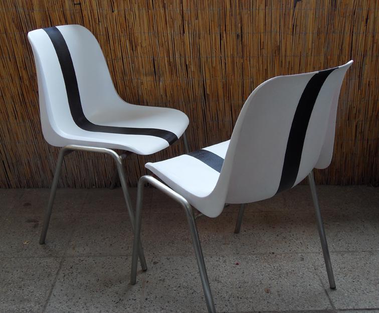 Gründerzeit Stühle Neu ~ Beim Maler Design Stühle von Helmut Starke farblich neu gestalten