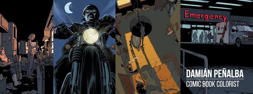 Damián Peñalba | Comic Book Colorist
