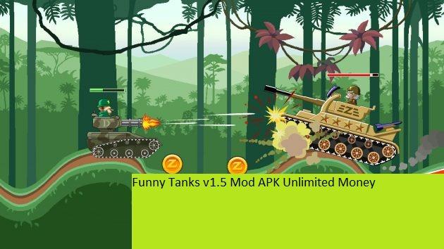 Funny Tanks v1.5 Mod APK Unlimited Money