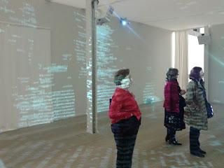 """Exposición """"El hilo de Ariadna""""  Casa del lector, febrero 2013"""