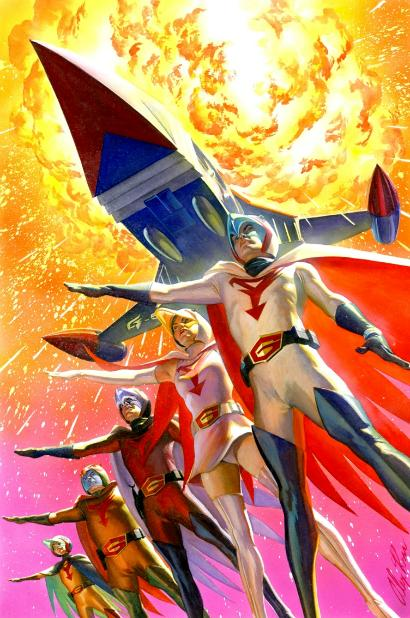 Brushing Up: Alex Ross
