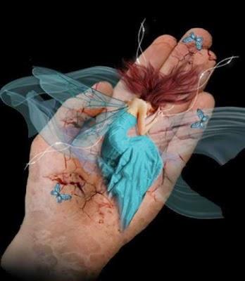 Que Deus lhe guarde na palma de sua mão