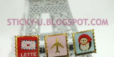 035: Paris Voyage Girl Sticker