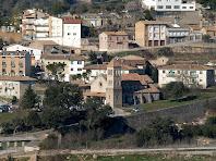 Zoom a l'església de Cal Marçal