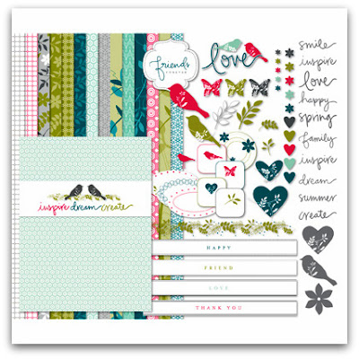 Walk In The Park II Digital Kit by Stampin' Up!