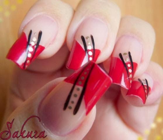 Lovely nail arthttpnails sidespot new valentines love nails design 2014 for women prinsesfo Images