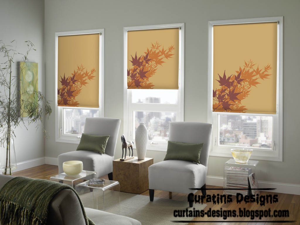 Curtain designs for Window panel design