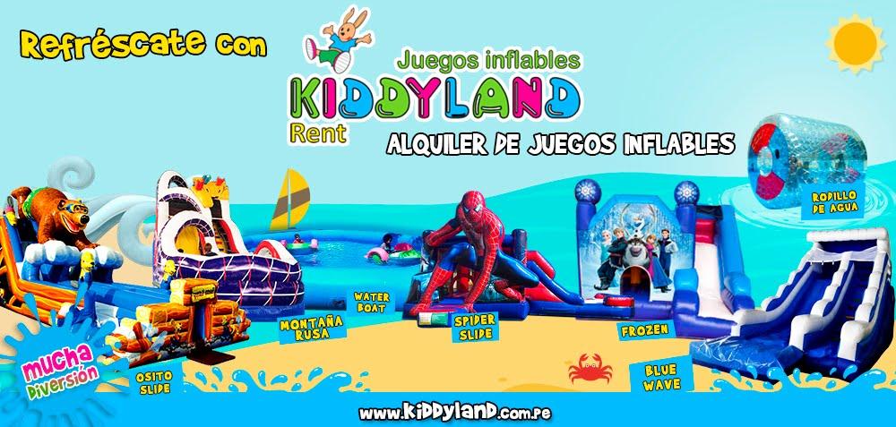 Juegos Inflables Peru - KiddyLand, inflables para eventos sociales