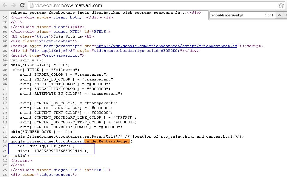 Cara Membuat Widget Follower Blog Valid HTML5