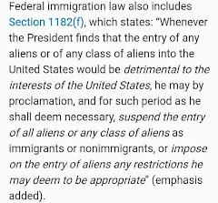 Statute for Immigration Law