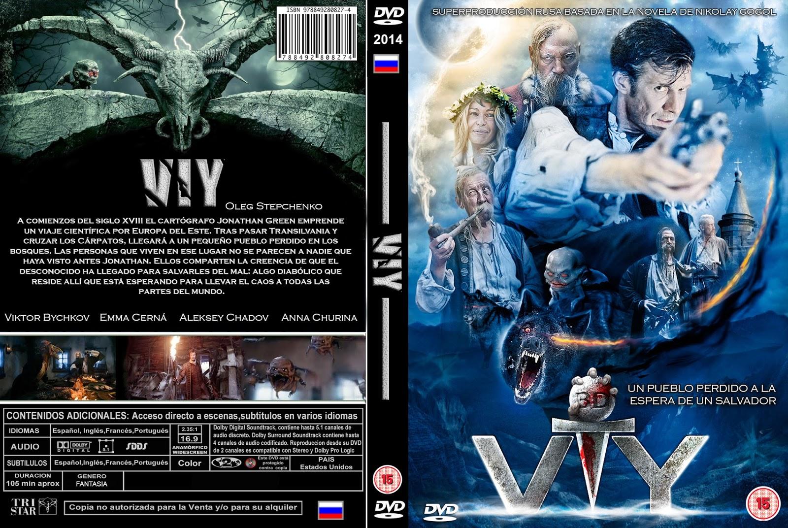 A Lenda Viy DVDRip XviD Dual Áudio VIY DVD COVER 2014 ESPA C3 91OL PBETADOS