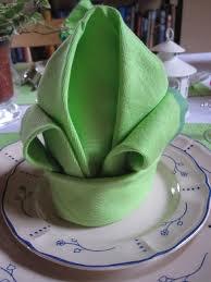 Pliage de serviette LYS