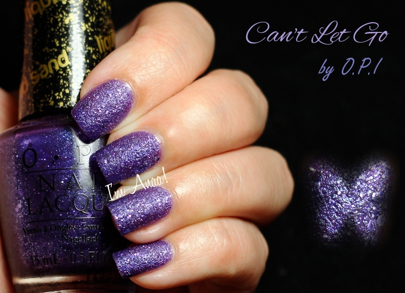 Opi Cant Let Go Liquid Sand