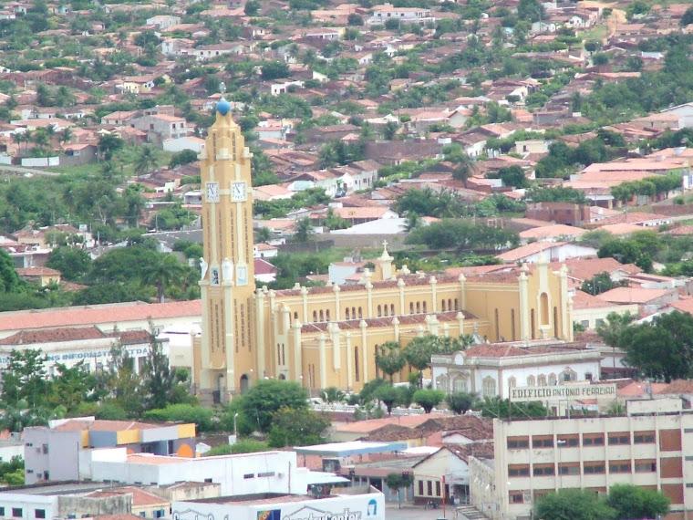 FOTO DE CAJAZEIRAS EM VISAO DIURNA