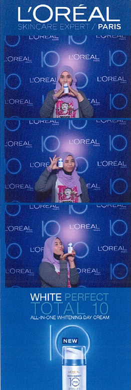 L Oreal Paris White Perfect 10 Photobooth