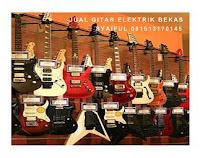 jual gitar elektrik bekas murah