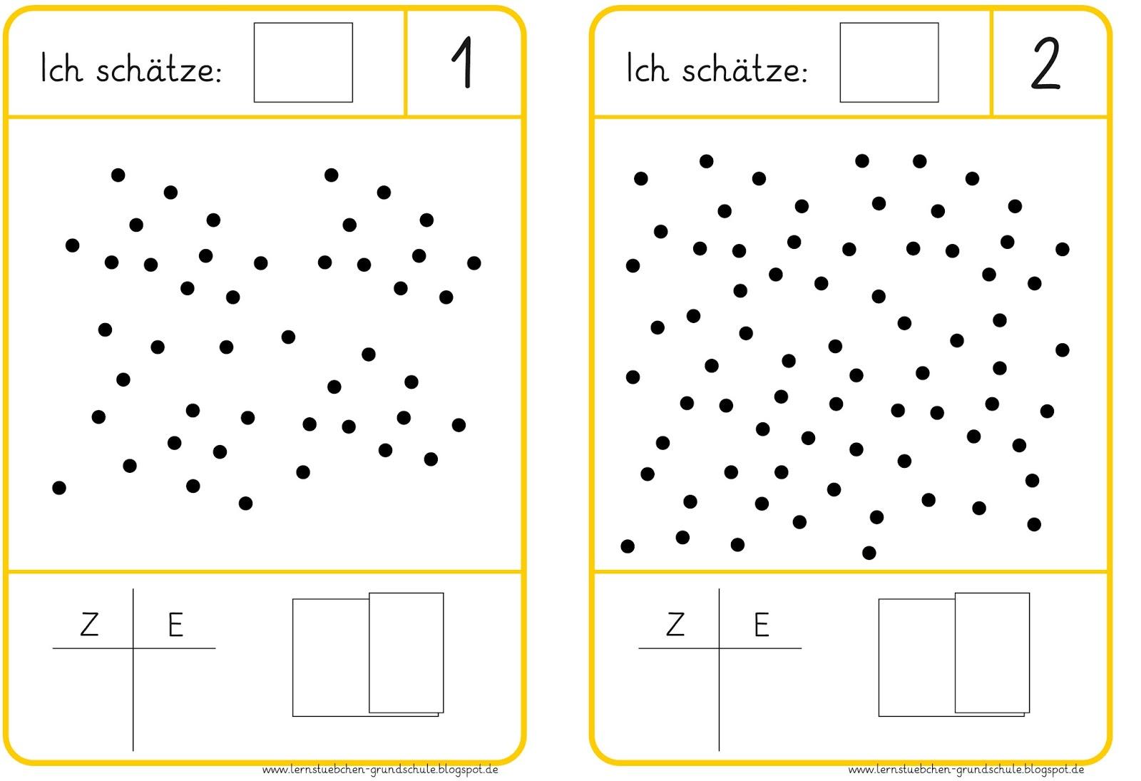 Mathe Arbeitsblatt Hunderter Zehner Einer: Lernstübchen domino zur ...