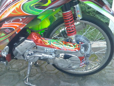 Modifikasi Motor Mio Soul Gt Warna Merah