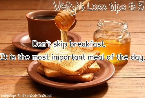 dont skip breakfast Another reason to eat breakfast: skipping it may increase your  people who don 't eat breakfast are more likely to be hungrier later and eat.