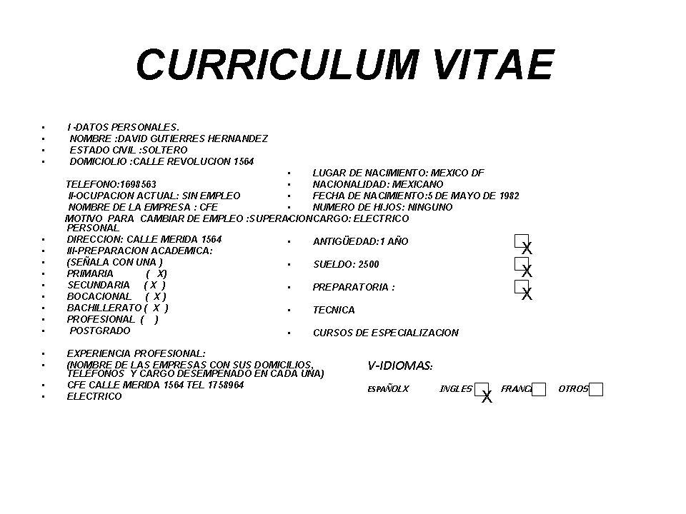Magnífico Ejemplos De Currículum Profesional Administrativo ...