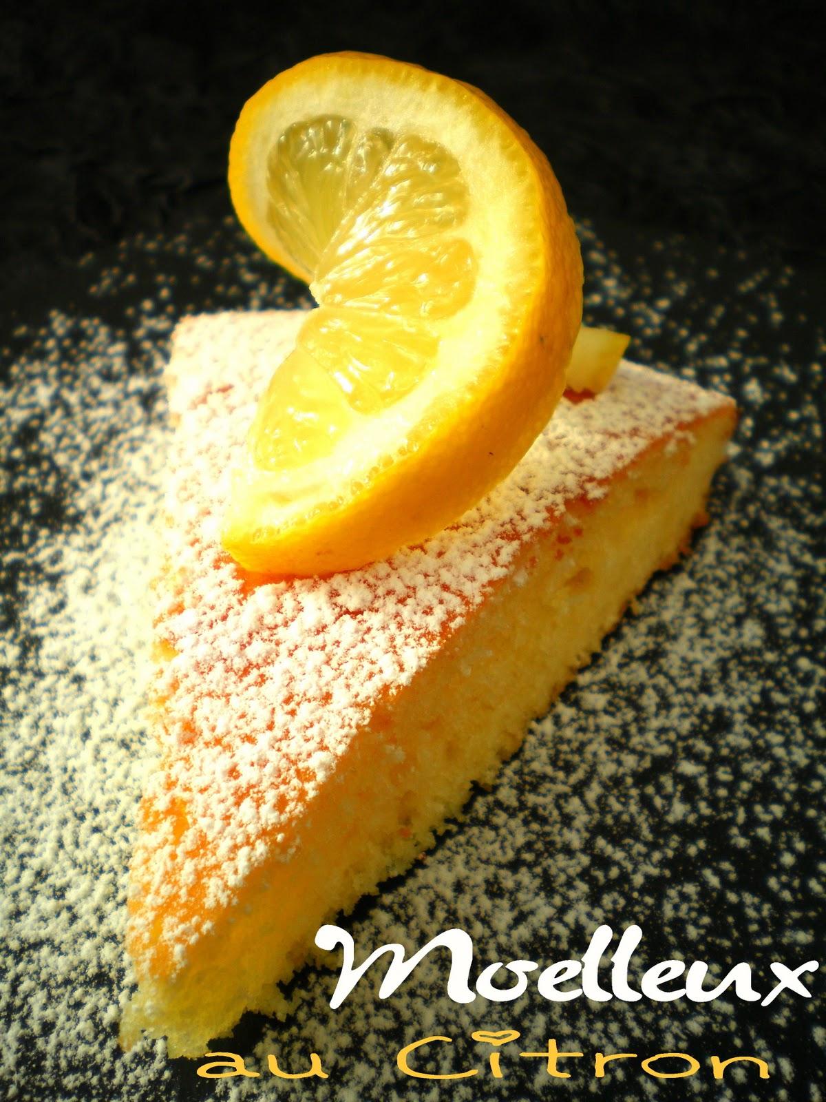 Pourquoi se priver quand c 39 est bon et l ger moelleux au citron 3 5 pts ww - Quand cueillir les citrons ...