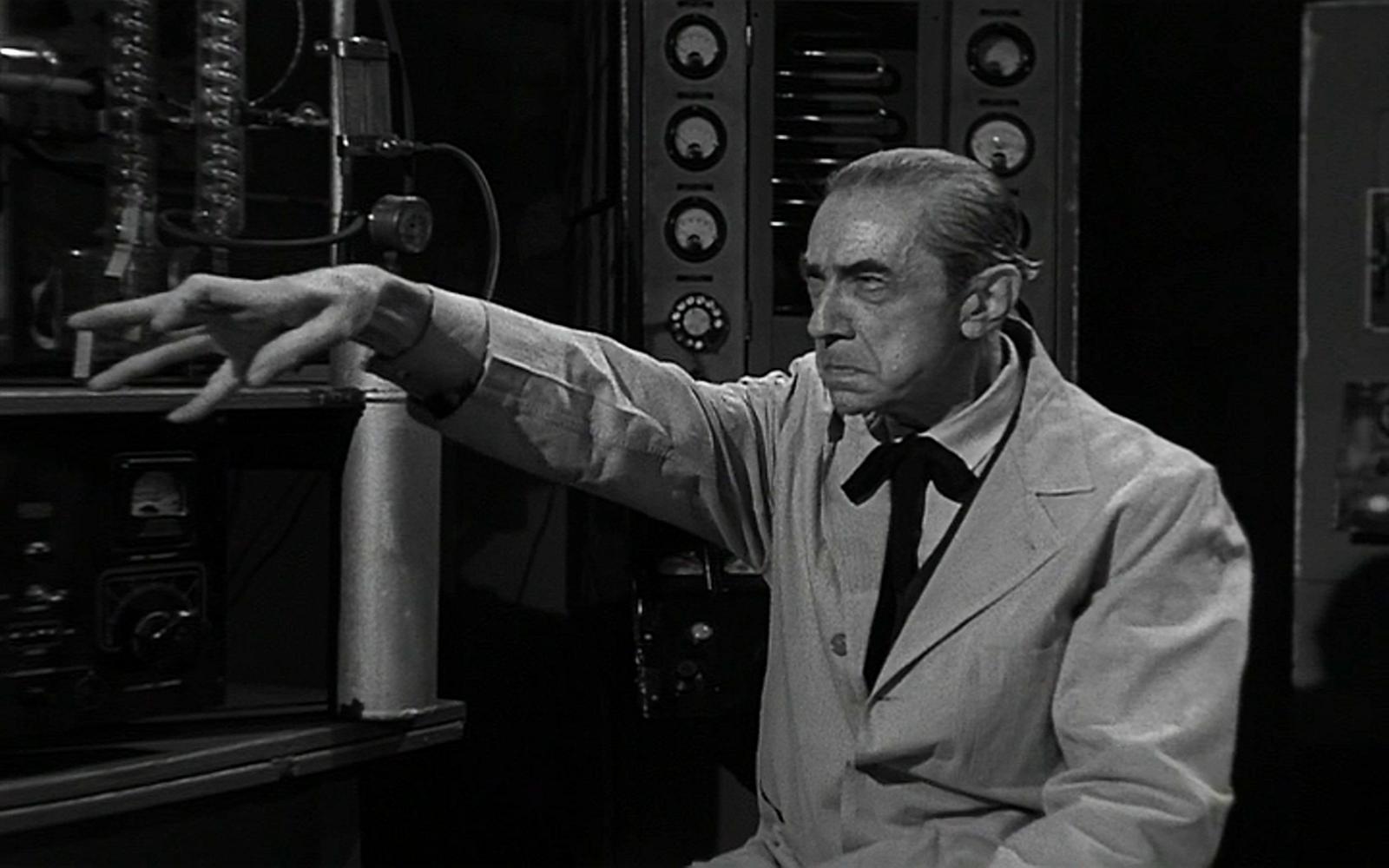 Bride of the Monster - Bela Lugosi's Hands
