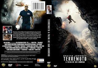 Capa DVD Terremoto A Falha De San Andreas