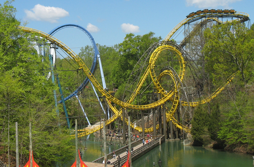 Life lessons from boys busch gardens williamsburg - Roller coasters at busch gardens ...